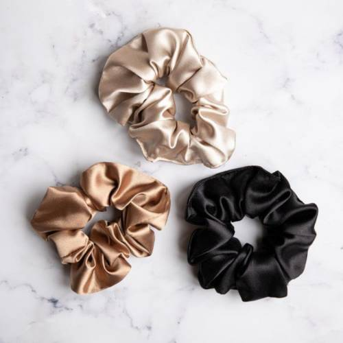 NK products scrunchies coffee 2